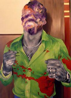 """Saatchi Art Artist Alessandro Pagani; Painting, """"Boxer (Ken Norton)"""" #art"""