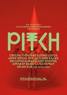 Pitch Festival 2011, Amsterdam