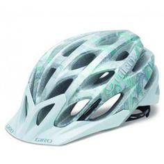 be080864 Giro Phase Helmet Silver/Sea Foam Leaves - Closeout Cycling Helmet, Bicycle  Helmet,