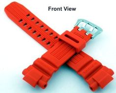 Casio #10370830 Genuine Factory Replacement Band for G Shock Watch Model GW3000M-4AV (Orange)