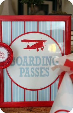 Airplanes & Clouds Birthday Party Ideas   Photo 1 of 40