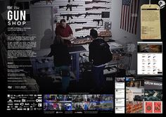 2015 Branded Content and Entertainment; Design; Media; PR; Promo and Activation; Outdoor Gold: The Gun Shop, States United to Prevent Gun Violence and Grey New York