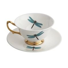 Feel like a lady with these pretty teacups