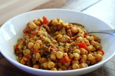 Chana Masala (Indian chickpea dish)