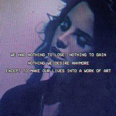Lana Del Rey #LDR #Ride
