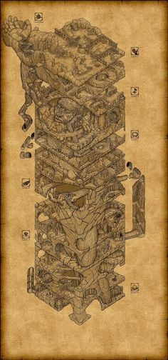 Confraria de Arton: Mapas (e dungeons) para suas aventuras - 70