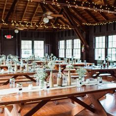 How gorgeous is this rustic camp reception setup? I'm in love!  Photography: @lotus_eyes_photography | Venue: Doe Lake Campground // See this post on Instagram: http://ift.tt/2gmCGgR