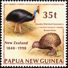 Southern Brown Kiwi stamps - mainly images - gallery format