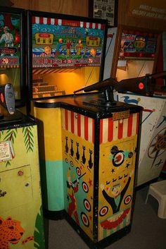 Carnival Gun shooting gallery game