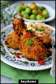 Anyżkowo: Chrupiące pałki z kurczaka