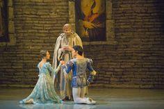 "Choreography by Kenneth MacMillan ""Romeo and Juliett"" Ballet in three acts, thirteen scenes. Perm Ballet"