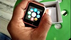 Smart Watch Apple, Apple Watch, Bluetooth, Watches, Wristwatches, Clocks