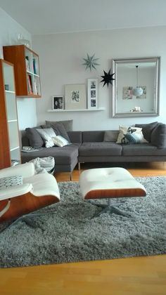 Eames Lounge Chair Snow | Lounge Chairs | Pinterest | Lounge Chairs, Room  Ideas And Ottomans