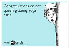 I'm sorry, as someone who practices yoga, I think this is hilarious ...
