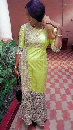 Malian Fashion bazin #Malifashion #bazin #malianwomenarebeautiful #dimancheabamako #mussoro #malianwedding #bazinriche #brodé #brocade #teinture #gala Trendy Fashion, Fashion Outfits, Womens Fashion, Ethnic Dress, African Fashion, Charlotte, Couture, Ankara, Clothes