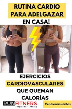 Entrenamiento CARDIO para adelgazar en casa! Ejercicios que queman calorías Hiit, Fitness, Gym, Mary, Physical Therapy, Get Lean, Pills To Lose Weight, Weight Loss Diets, Leg Toning