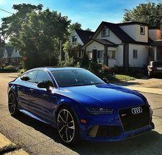 #Audi RS7 Sportback - http://ift.tt/1HQJd81
