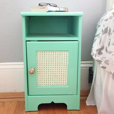 DIY Urban Outfitters Inspired Nightstands. (via Craft Habit)