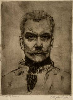 Akseli Gallen-Kallela, 'Self-Portrait'