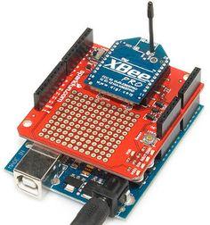 Arduino Shield List: Sparkfun XBee Wireless Shield
