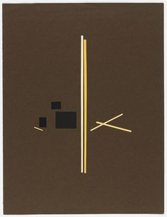 Bruno Munari: Untitled (graphic composition), 1951.