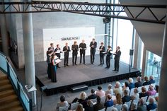 Vox Luminis at the festival 'Music in the Giant' at Swarovski Crystal Worlds in Wattens, Tyrol. Swarovski Crystal World, Stars Play, World Star, Classical Music, Concert, Music, Recital, Concerts