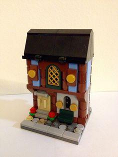 LEGO MOC Mini Modular: Medieval Market Village
