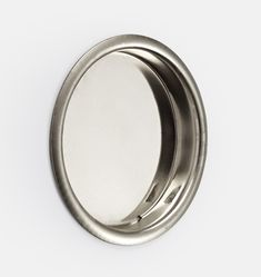 Complete your door hardware setup with this Round Flush Pull. Ideal for closet doors or pocket doors, the flush pull offers a seamless handle option. Choose from several beautiful finishes to suit your space. Mirrored Wallpaper, Wall Art Wallpaper, Cafe Curtain Rods, Drapery Rods, Vintage Wall Art, Vintage Walls, Porch Accessories, Outdoor Dining Furniture, Bathroom Collections