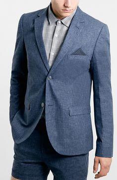 Beautiful blue suit.