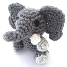 Amigurumi Crochet Elephant Featured Image