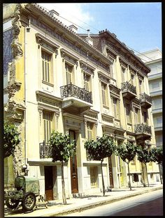 Eperou St., Athens, Greece during the late 1950s-early 1960s  by Ath76, via Flickr