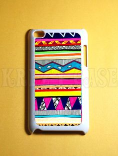 Ipod Touch 4 Case - Cute Aztec pattern Ipod 4G Touch Case, 4th Gen Ipod Touch Cases