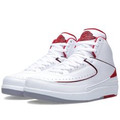 103770f6716b2c Nike Mens Air Jordan 2 Retro Basketball Shoes Size 11 NEW 385475 102