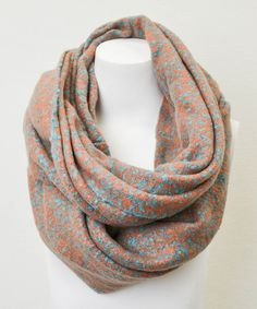 Take a look at this Turquoise Boucle Infinity Scarf by Leto Collection on #zulily today!