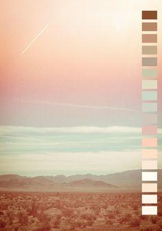 J'ai choisi cette image pour la gamme de couleur