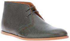 Charcoal Leather Desert Boots by Opening Ceremony. Buy for $256 from farfetch.com