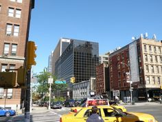 Approaching the BMW Building Between 10th & 11th Avenue On West 57 Street, New York City.