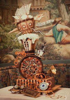 Steampunk Wedding Cakes | Artisan Cake Company