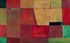 "Jerzy Nowosielski, ""Posadzka w łazience"" / "" Flooring in the bathroom"", olej na płótnie  / oil on canvas, 1948 Quilts, Blanket, Contemporary, Cool Stuff, Rugs, Painting, Decor, Google, Art"