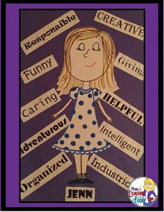 Read about this art project and lots of other tips to help you teach character traits in reading.