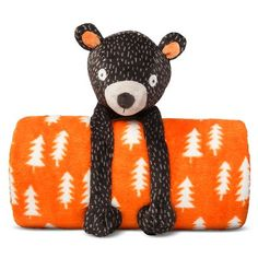 Circo Forever Forest Campfire Bear Decorative Pillow Judah`s Room Pinterest Campfires ...