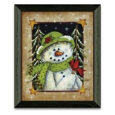 Shop our full selection of art, including this Timeless Frames ''Feather Friend'' Snowman Framed Wall Art, at Kohl's. Blue Christmas Decor, Christmas Wall Art, Christmas Paintings, Christmas Signs, White Christmas, Christmas Wreaths, Christmas Decorations, Christmas Clock, Christmas Images