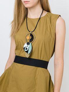 Marni 'Various Materials' necklace