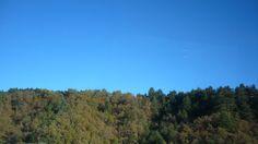 Cielo Azul no he visto así hasta ese día, cosas grandes ha hecho el Señor, Turkia Nov 2015