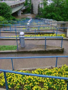 Zig Zag down the Riverwalk, Chattanooga, TN Downtown Chattanooga, Chattanooga Tennessee, Travel Pictures, Travel Pics, River Walk, Long Haul, Southern Charm, Outdoor Furniture, Outdoor Decor
