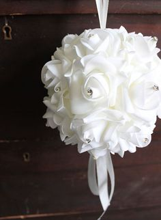 Your source for beautiful inexpensive artificial wedding bouquets online. Shop Afloral for silk weddings flowers the allergen-free, hassle free and inexpensive choice. Artificial Wedding Bouquets, Silk Wedding Bouquets, Wedding Flower Arrangements, Wedding Flowers, Silk Roses, White Roses, Silk Flowers, Diy Wedding Decorations, Flower Decorations
