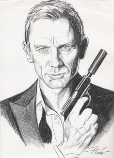 James Bond by Patricio Carbajal