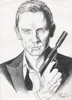 James Bond by Patricio Carbajal