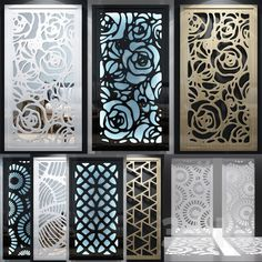 Set of decorative panels_06