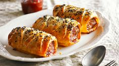 Sausage rolls: Why venture all the way to the shops when you can whip up a dynamite version of this classic right in your own home? So easy!